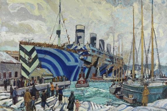 Witness: Canadian Art of the First World War