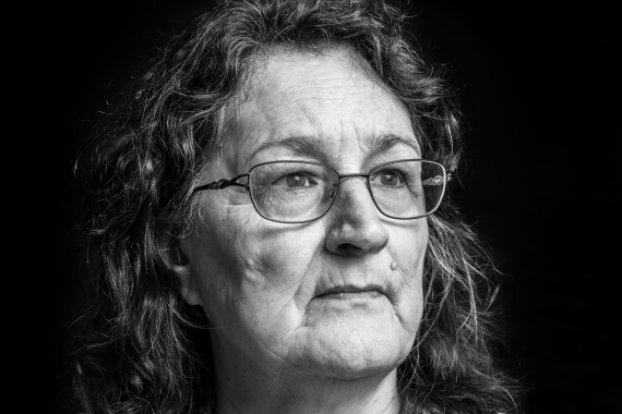 Marie McLean (2019). Photograph. Collection of the artist.