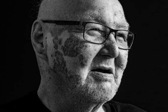 Sam Palliser (2019). Photograph. Collection of the artist.